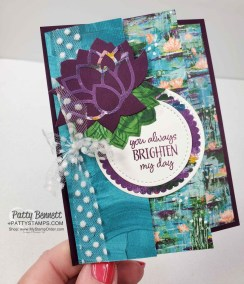 Lily Impressions Fun Fold Card Idea