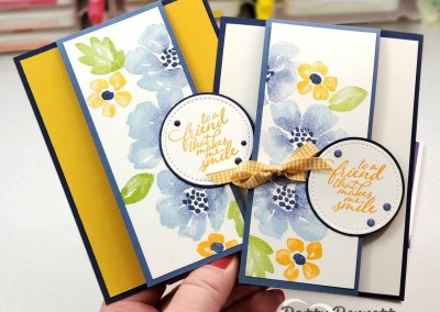 Blossoms in Bloom card with Stamparatus