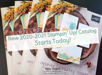 New Stampin' UP! Catalog Live Today!