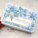 Christmas gift idea: Snowflake Splendor papercrafting supplies from Stampin