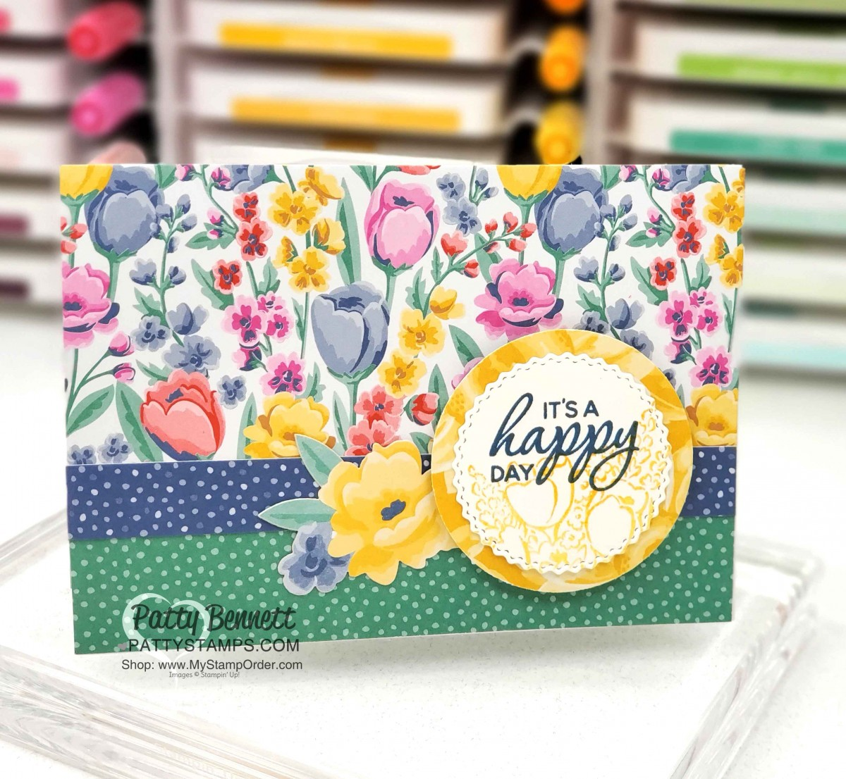 flowers for every season note cards  patty stamps