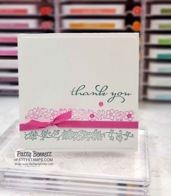 Borders Abound Simple Stamping Card