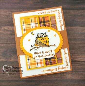 Plaid Tidings Fun Fold Card