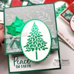 Christmas card idea featuring Stampin