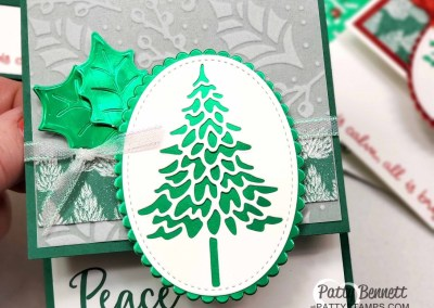 In the Pines Foil Christmas Tree Cards