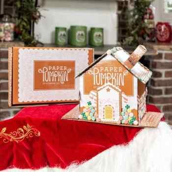 Jolly Gingerbread Paper Pumpkin Kit