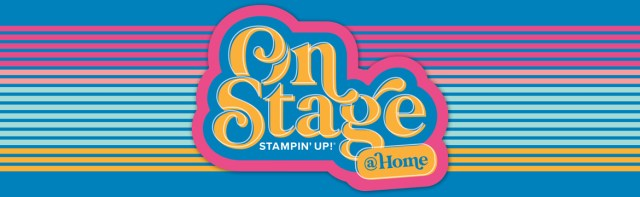 Stampin' UP! OnStage@Home 2020 ready for online stamping event! www.PattyStamps,com