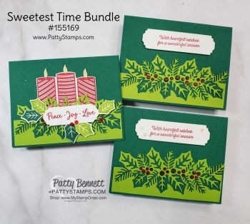 Sweetest Time Bundle Christmas Card Idea