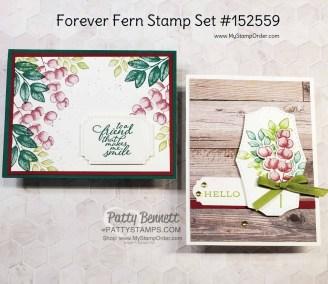 Forever Fern Bundle Card ideas
