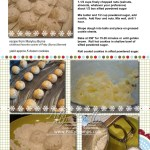 Snowball Cookie recipe from Marylou Burns to Patty Bennett. Favorite Christmas Cookies!