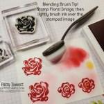 Blending Brush Tip for Brushed Blooms Bundle from Stampin