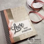 Love You Always specialty foil card idea featuring Stampin
