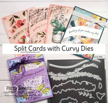 Split Cards with Quite Curvy Bundle