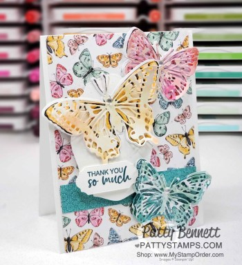 Butterfly Bouquet Cards and Q&A video from Patty