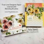 How to use Blending Brushes with Stampin