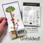 Woodland Wonders pull out card for Jason
