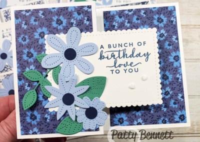 Pierced Blooms Fun Fold Birthday Cards