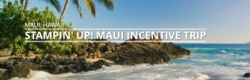 Stampin' UP! Maui Incentive Trip!