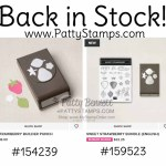 Strawberry Builder punch and Sweet Strawberry bundle from Stampin