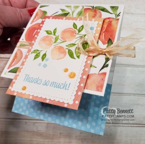 Sweet as a Peach Cards – Join me Live