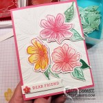 card idea featuring Art in Bloom bundle from Stampin