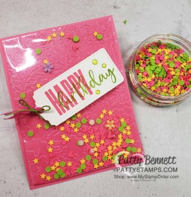 Faux Shaker Card with Shimmer Vellum