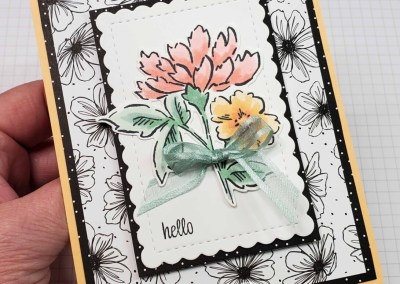 Hand-Penned Hello Card