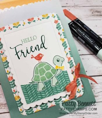 Turtle Friends adorable Gift Bag Idea