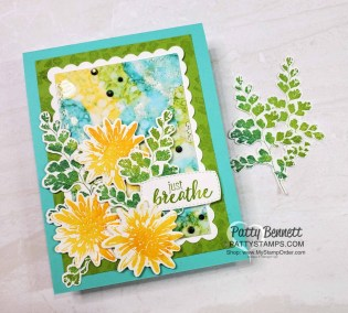 Positive Thoughts Stampin' Up! Card Idea