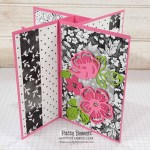 Pinwheel Tower Card created with Stampin
