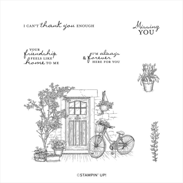 156607 feels like home stampin up sale a bration set 2021