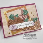 Color Be Dazzling glitter paper from Stampin