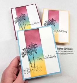 Timeless Tropical Palm Trees & Ink Blending Tips