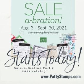 New Catalog & Sale-a-Bration Part 2 Starts Today!