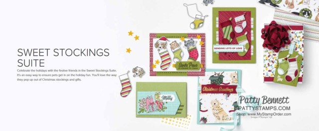 Sweet Stockings Suite Christmas Card Making and crafting supplies from Stampin' Up!