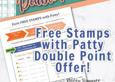 Double Points Customer Loyalty Perks from Patty