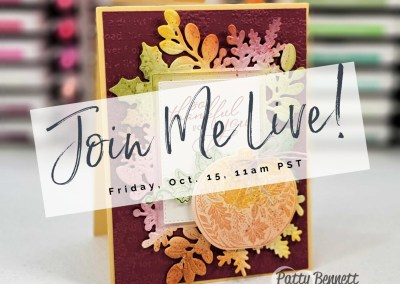 Join me Live at 11am Today!