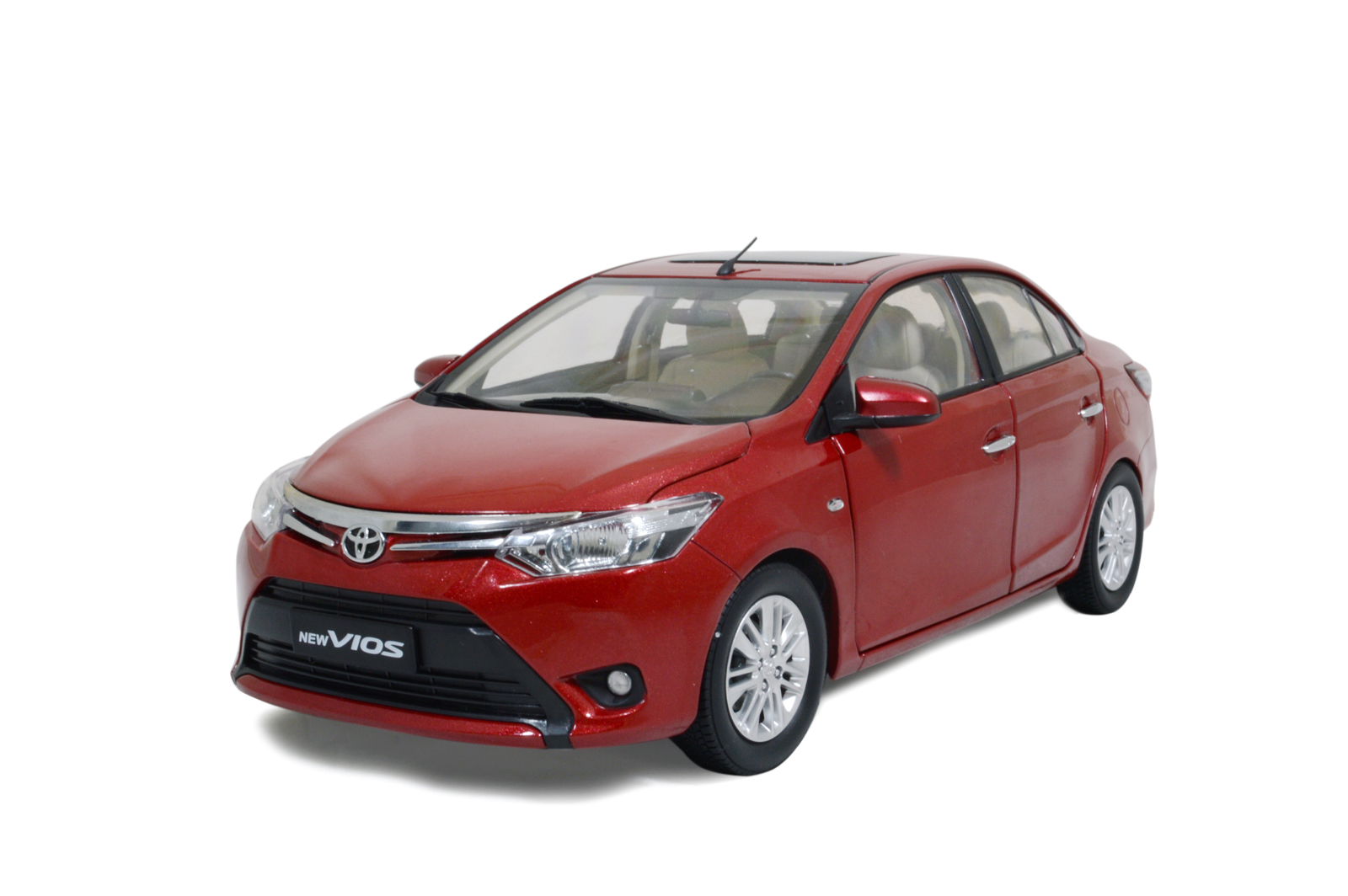 Toyota Vios 2014 1 18 Scale Diecast Model Car Wholesale