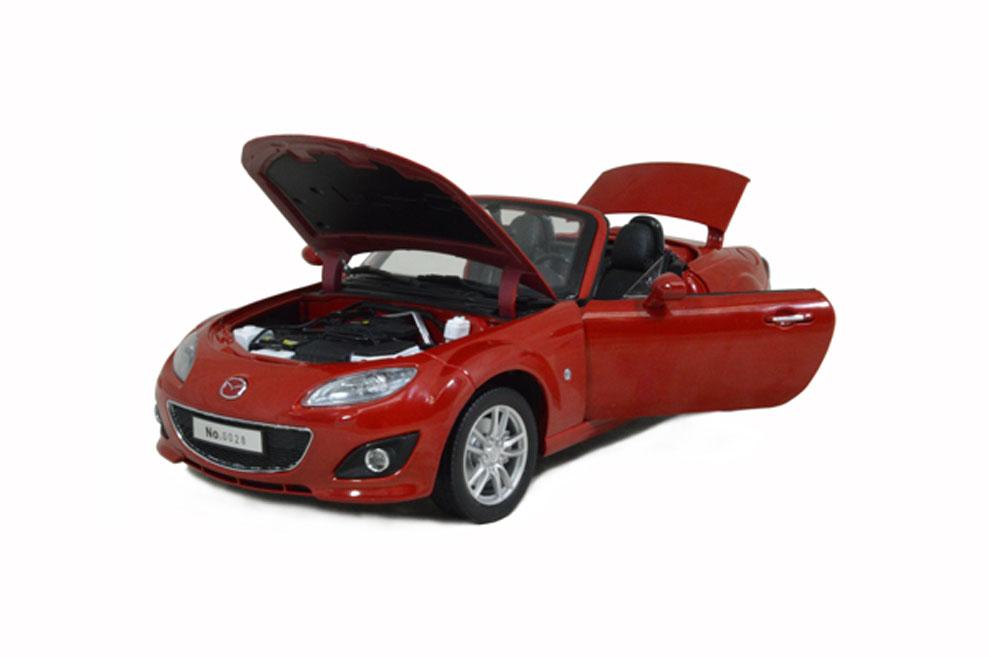 Mazda MX5 2012 Red 118 Scale Diecast Model Car  Paudi Model