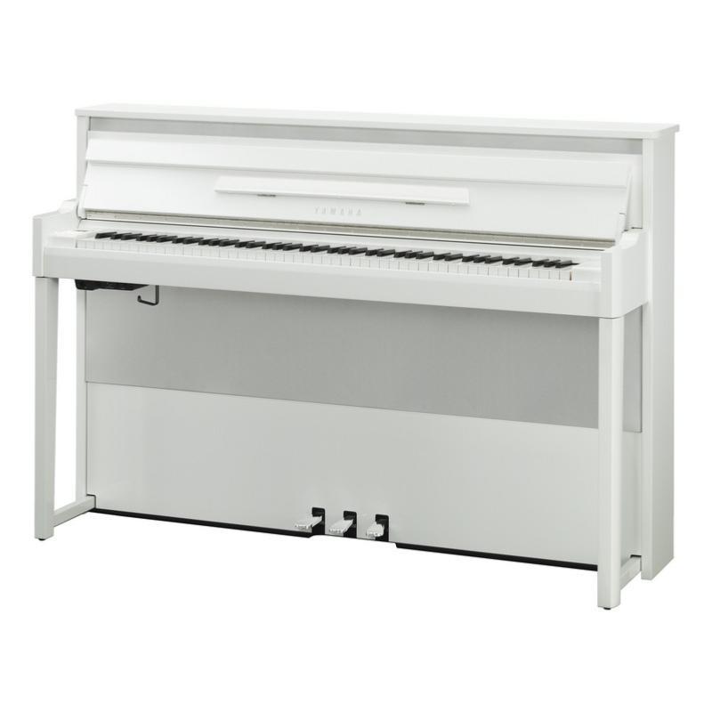 piano numerique yamaha avantgrand nu1x pbw blanc laque