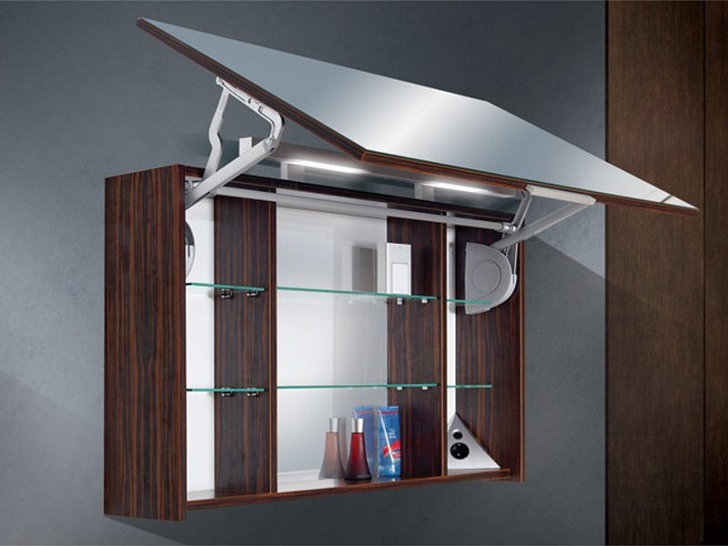 Spiegelschrank mit Lifttr 100 cm breit  Paul Gottfried