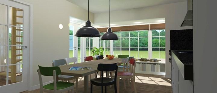 Presentatie plaat van de nieuwe keuken. Architect Enschede Markelo Hengelo Haaksbergen Almelo Oldenzaal Borne