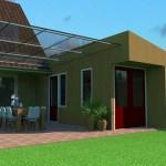 Uitbreiden bestaande garage, nieuwe terras overkapping