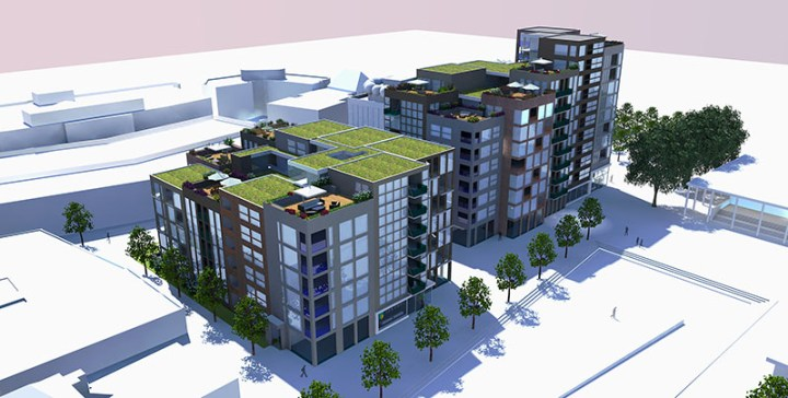 Stationsplein Enschede Paul Koster herontwikkeling hoogbouw appartementen architect centrumkwadraat enschede hengelo oldenzaal almelo haaksbergen