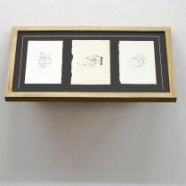 Mother Knows Best, 35x65x30cm (x4), archive inkjet print, stolen paper (2012)