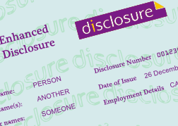 disclosure and barring service, DBS, enhanced security clearance, enhanced DBS