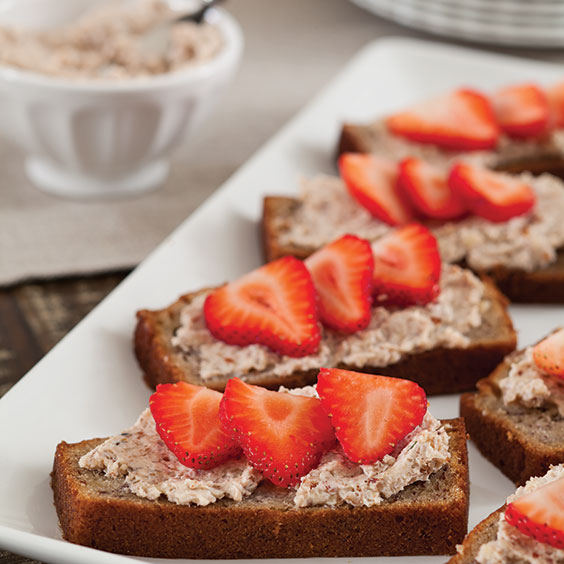 Toasted Open Face Sandwiches