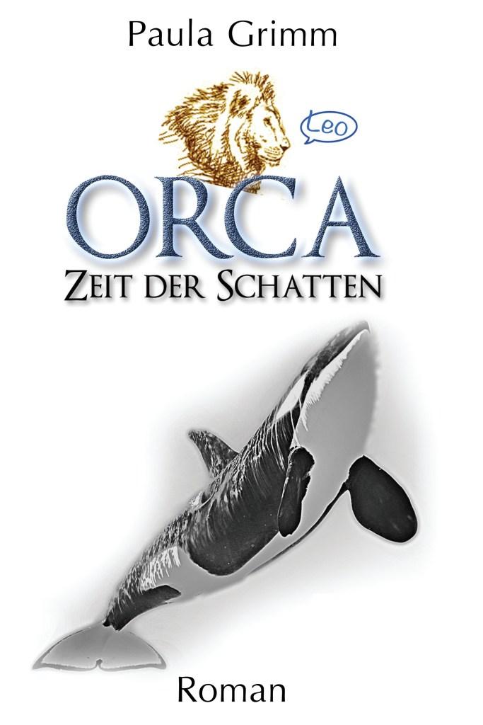 """Das Bild auf dem Cover stammt von Mia Bernauer und wurde von Mira Alexander in das Cover eingefügt. Es zeitt die Zeichnung eines Orcas und als Signatur einen Löwenkopf mit Sprechblase """"Leo""""."""