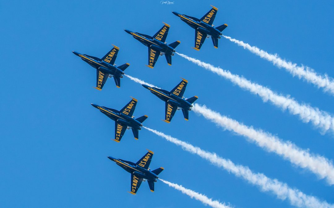 A Field Trip to See the Blue Angels Fly Over Allen