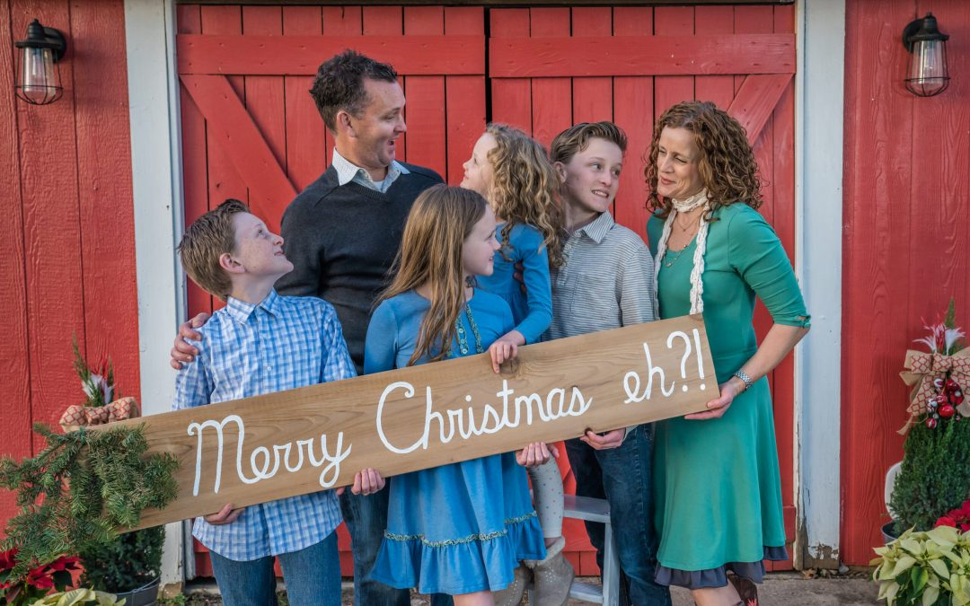 Time to Schedule Your Holiday Card Photo Session